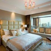 新古典温婉三居室卧室装修效果图