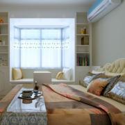 精致日式风格小户型榻榻米床装修效果图