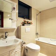 简欧风格小户型卫生间装饰效果图
