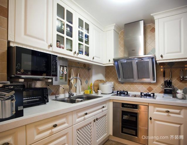 小户型简约风格欧式厨房装修效果图