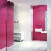 三居室唯美系列洗手间装修效果图