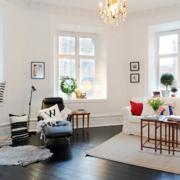 北欧风格别墅型客厅装修效果图鉴赏