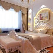 200平米简欧风格奢华大气别墅卧室装修效果图