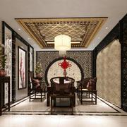 复古中式餐厅欣赏