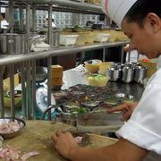 中式风格饭店厨房设计装修效果图