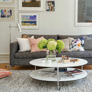 三室两厅客厅沙发欣赏