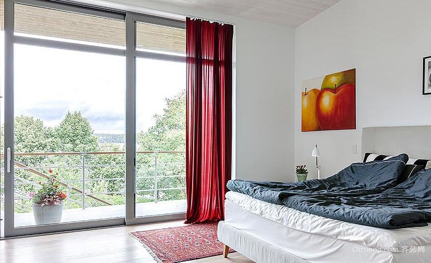 大户型创意落地隔音玻璃窗装修效果图