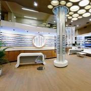 现代大户型眼镜专卖店装修效果图