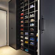 后现代风格大户型进门玄关整体鞋柜装饰