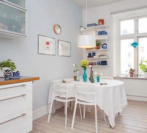 北欧风格大户型三室两厅两卫装修效果图