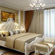 时尚欧式30平米卧室装修效果图