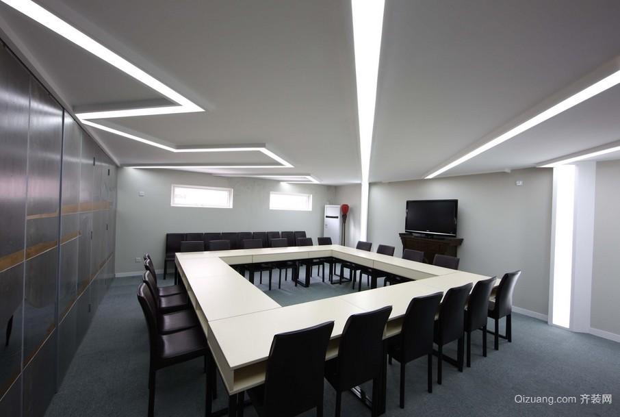 世界500强企业创意会议室装修效果图