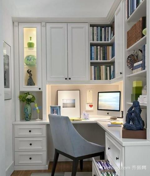 138平米书房精致书柜图片大全