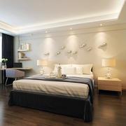 现代卧室吊顶设计