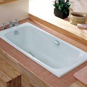 日式简约原木浴缸效果图