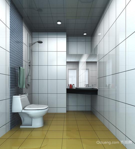 现代欧式大户型洗手间装修效果图鉴赏