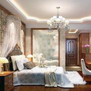 唯美的卧室造型图