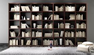 108平米实木书柜图片大全