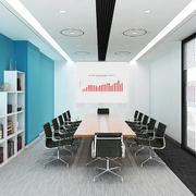 20平米现代都市会议室装修效果图