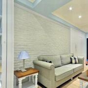 小户型客厅沙发背景墙