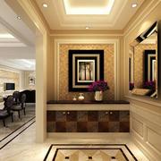 118平米艺术气息现代黑白装饰画效果图片