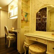 大户型卧室欧式梳妆台装修效果图片