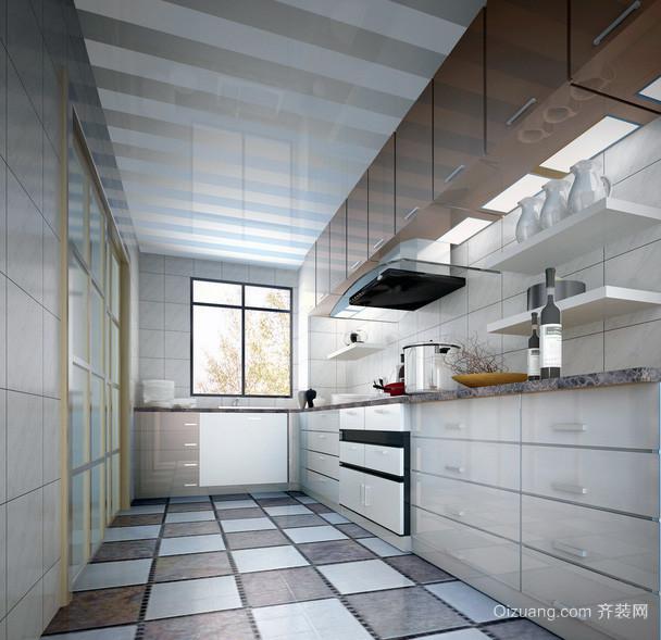 精致的欧式大户型厨房吊顶装修效果图