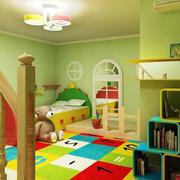 200平米别墅美式混搭风格儿童房装修效果图