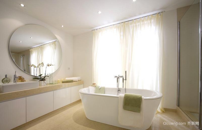 三十平米大户型美式风浴室装修设计效果图