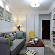 都市简约风格公寓沙发背景墙装饰