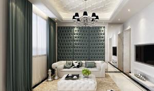 简欧风格三居室客厅装修效果图