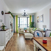 小户型家居实木地板