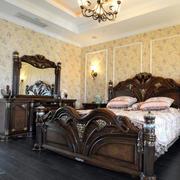 古典30平米卧室欧式梳妆台装修效果图片