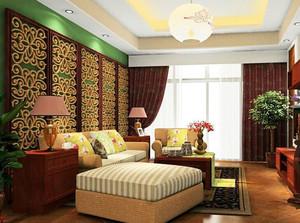 各式各样奢华别墅客厅沙发背景墙装饰效果图
