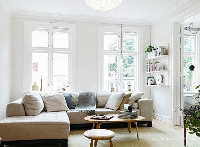 大户型美式简约风格样板房装修效果图
