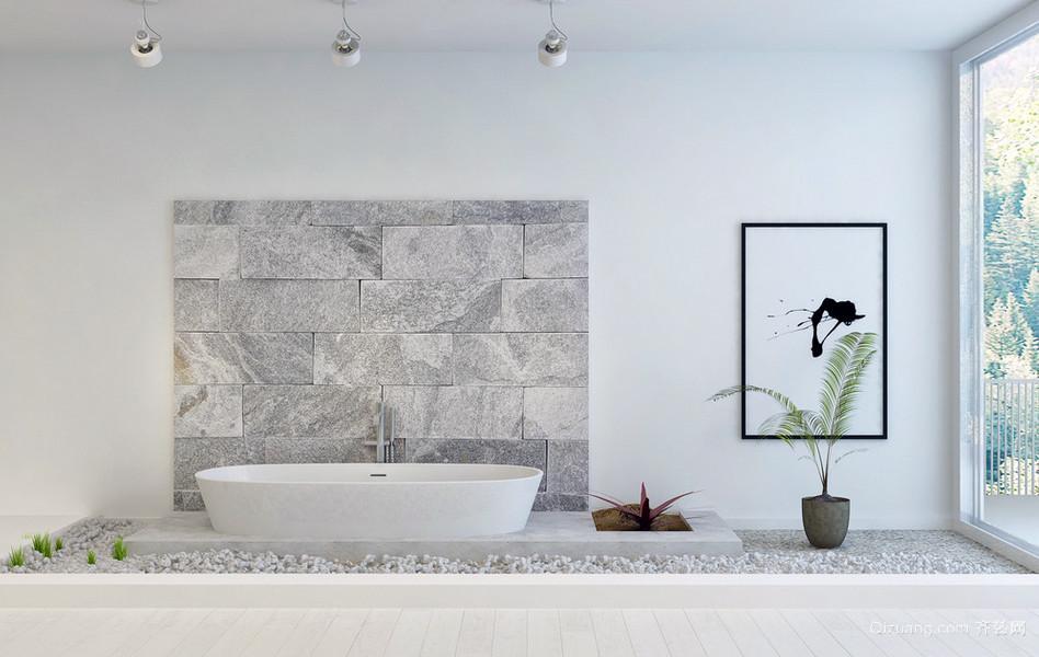 2015新款欧式浴室装修设计效果图