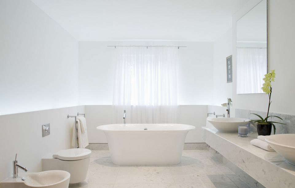 百平大户别墅奢华浴室装修设计图例