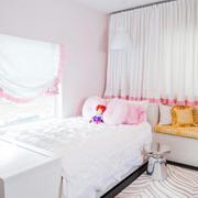 北欧风格飘逸奢华儿童房装修效果图