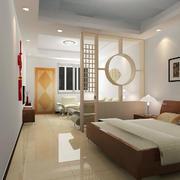简约风格公寓客厅隔断装饰