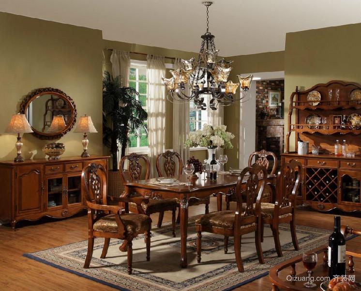 精致的大户型美式家具装修效果图鉴赏