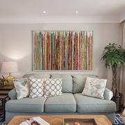 小户型客厅沙发背景装饰画