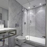 15㎡地中海小户精美浴室装修设计图