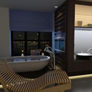 2015两层小复式楼欧式浴室装修设计效果图