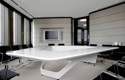 会议室时尚风格背景墙装修效果图