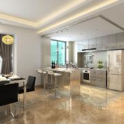 极致精美的欧式小户型厨房装修效果图