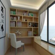 两室一厅简约风格阳台书房装修效果图