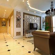 简欧风格130平米家居走廊装修效果图