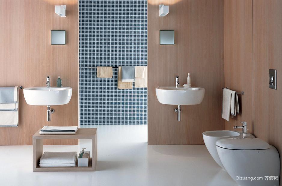 30㎡大户美式浴室装修设计效果图