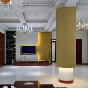 唯美的现代客厅设计