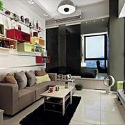 后现代风格公寓客厅装饰